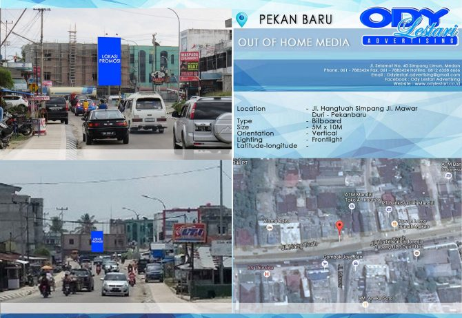 Jl. Hangtuah Simpang Jl. Mawar, Duri, Pekanbaru