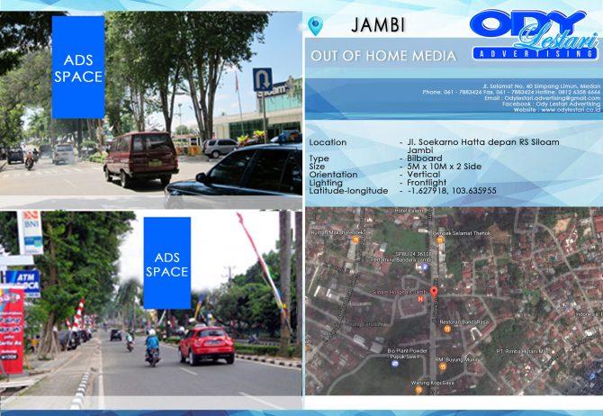 Jl. Soekarno Hatta depan RS Siloam - Jambi (2)