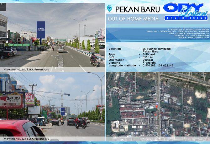 Jl. Tuanku Tambusai, Pekanbaru