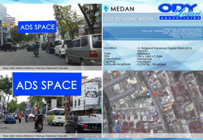Jl. Brigjend Katamso Depan Bank BCA, Medan