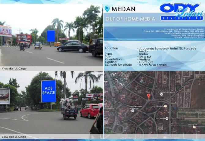 Jl. Juanda Bundaran Hotel TD. Pardede - Medan