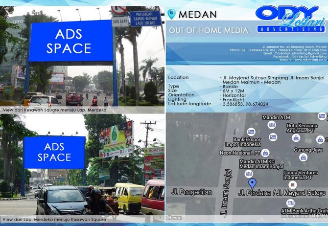 Jl. Mayjend Sutoyo Simpang Jl. Imam Bonjol, Medan Maimun