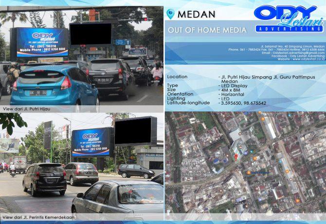 Jl. Putri Hijau Simpang Jl. Guru Pattimpus, Medan