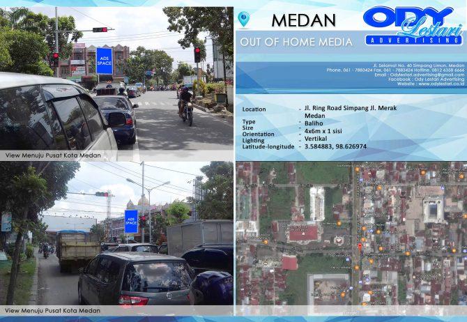 Jl. Ring Road Simpang Jl. Merak, Medan