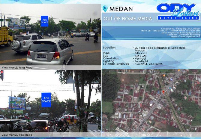 Jl. Ring Road simpang Jl. Setiabudi - Medan