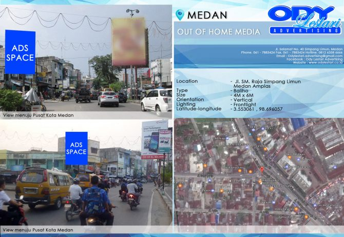 Jl. SM. Raja Simpang Limun - Medan Amplas