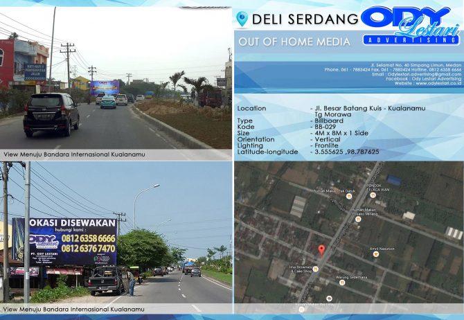 [KODE CERI] Jl. Besar Batang Kuis - Kualanamu, Tg Morawa